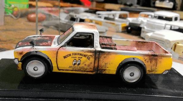 madworxkustom Datsun 620 Mooneyes 2