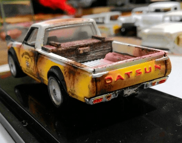 madworxkustom Datsun 620 Mooneyes 3