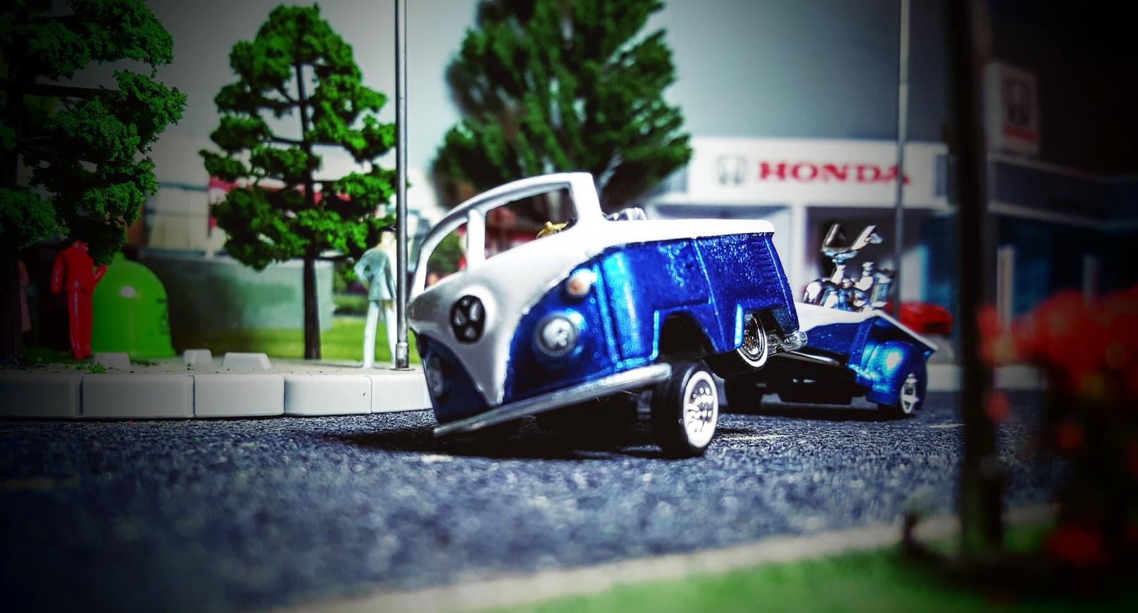 Hot Wheels Kool Kombi custom low rider dub stepper