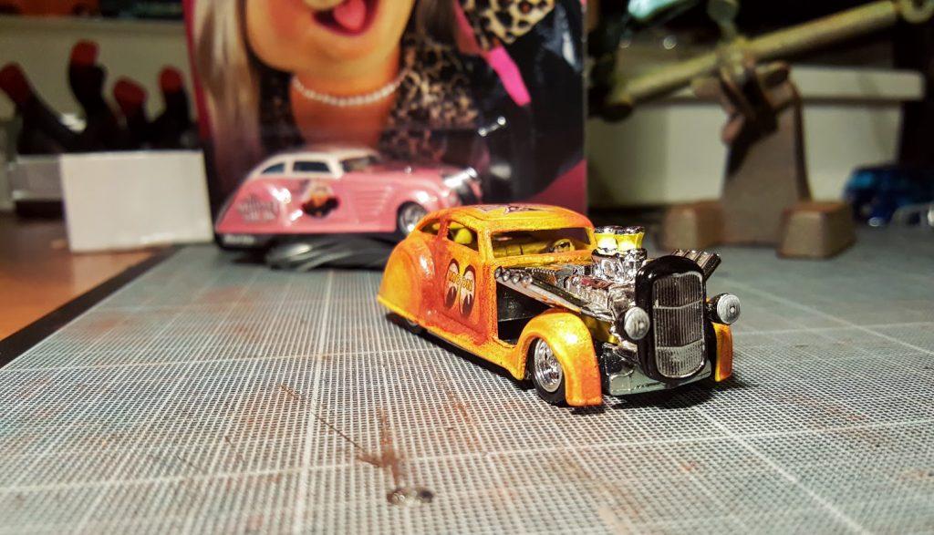 Custom Hot wheels Chrysler Air Flow Mooneyes