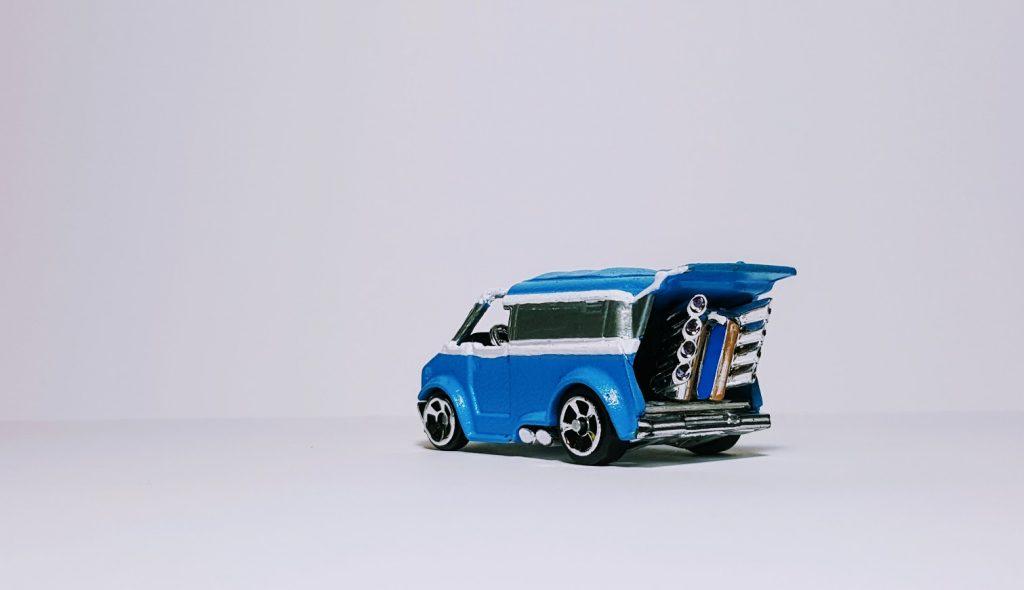 gluten free custom Hot Wheels diecast cars