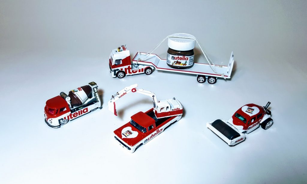 Complete Nutella Construction Set 3