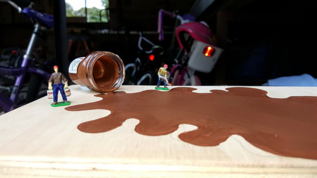 Nutella custom hot wheels wedding gift work in progress