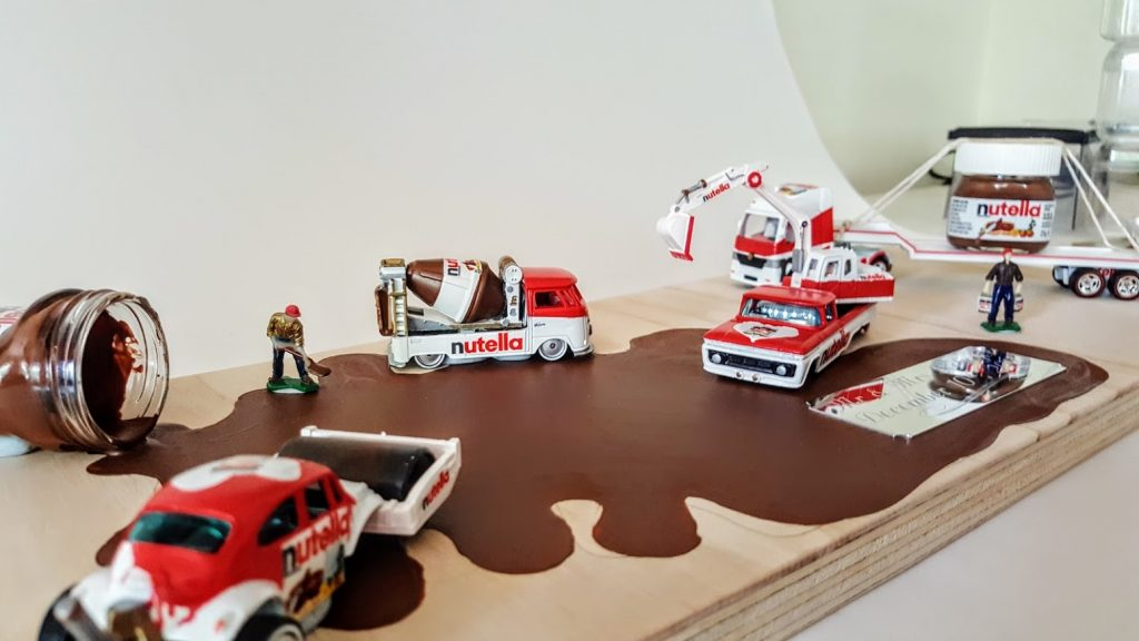 Nutella Custom Hot Wheels Wedding Set 3