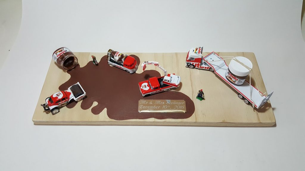 Nutella Custom Hot Wheels Wedding Set 9
