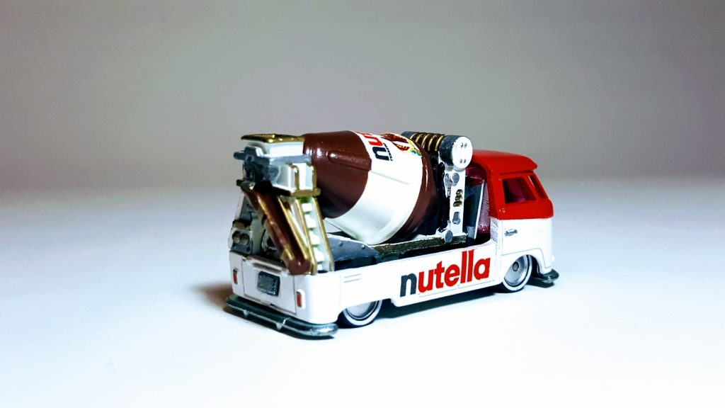 Nutella custom hot wheels wedding gift