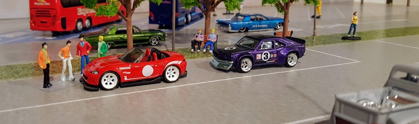 Hot Wheels Diorama – How To Find 1:64 Scale Figures