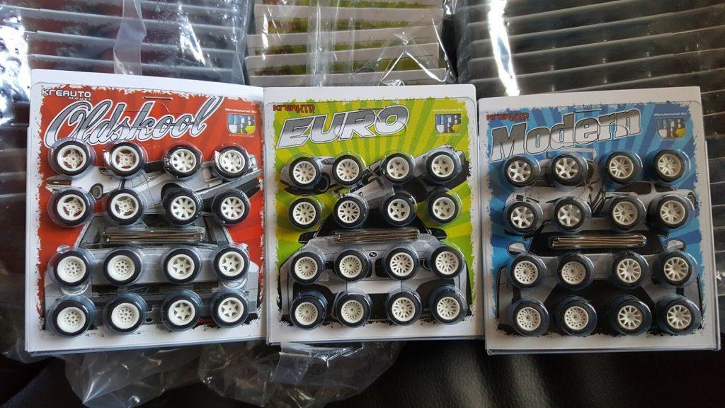 Custom Deep dish JDM and EURO wheels for Hot Wheels