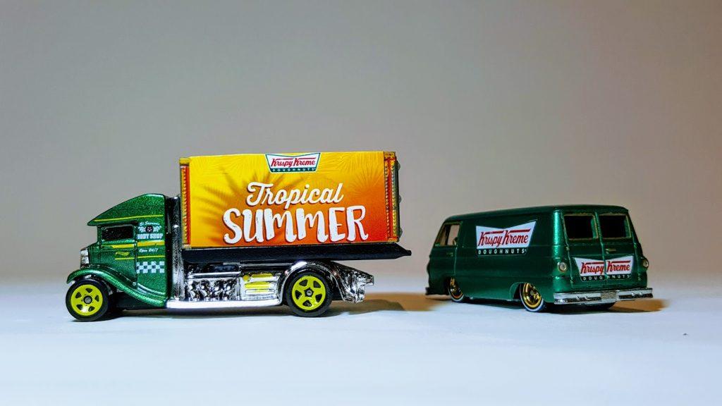 Krispy Kreme Custom Hot Wheels Collection