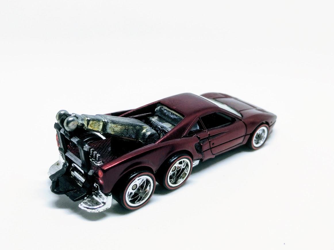 Ferrari Tow Eighty-Eight GTOw Truck | My Custom Hot Wheels