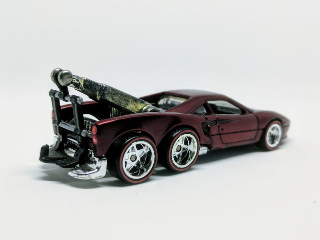 ferrari tow eighty eight gtow truck my custom hot wheels. Black Bedroom Furniture Sets. Home Design Ideas