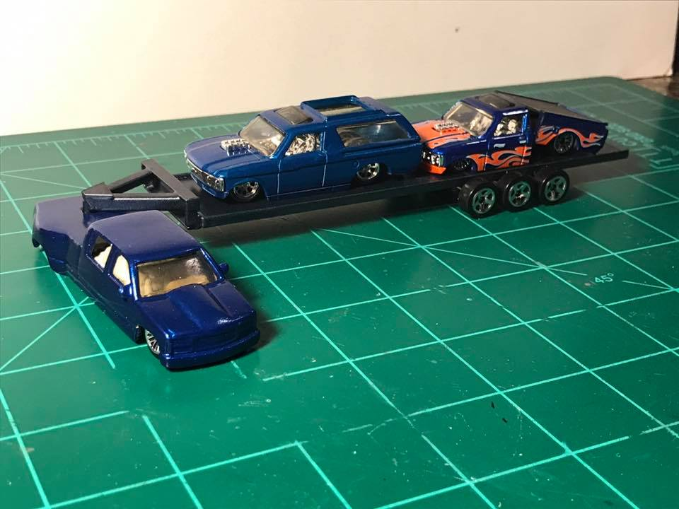 How to Make a Tilt Bed for your Hotwheels Mini Truck