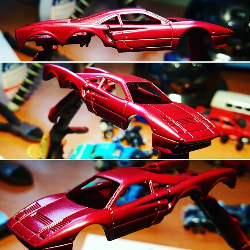 Ferrari 288 GTO and Tow Jam Custom Hot Wheels WIP