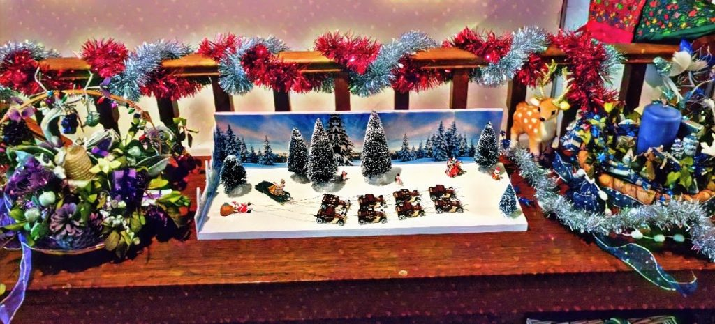 Christmas Themed Custom Hot Wheels Diecast Cars