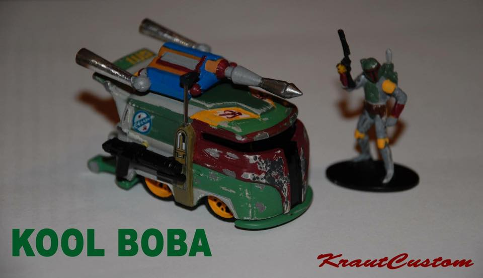 Kool Kombi Custom Hot Wheels - a Tribute to my Favorite casting