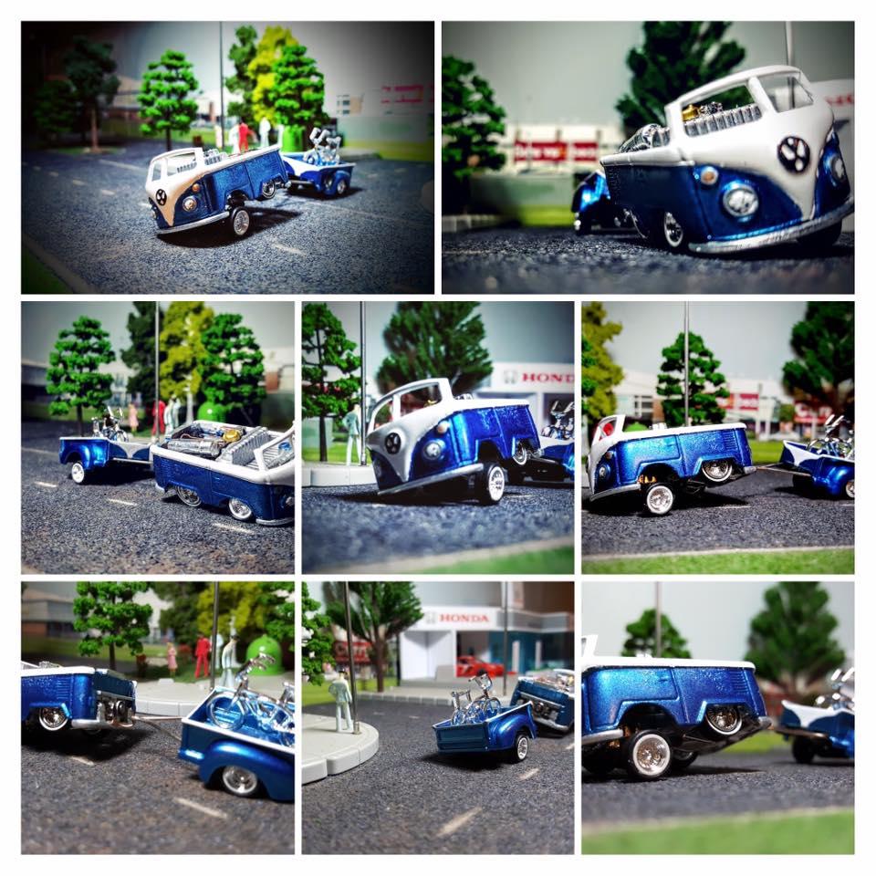 My Custom Hotwheels Kool Kombi Tribute - The Dub Stepper