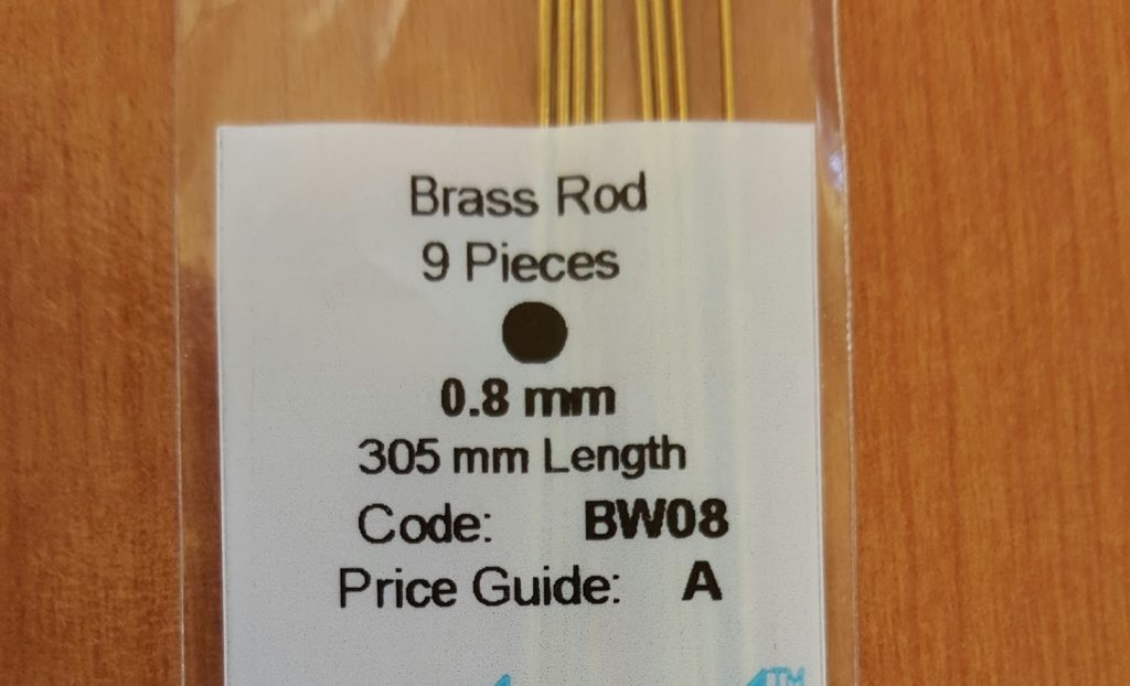 how to make axles - brass rods