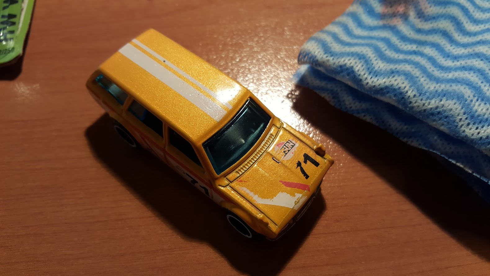 How To Remove Tampos and Decals from Diecast Cars