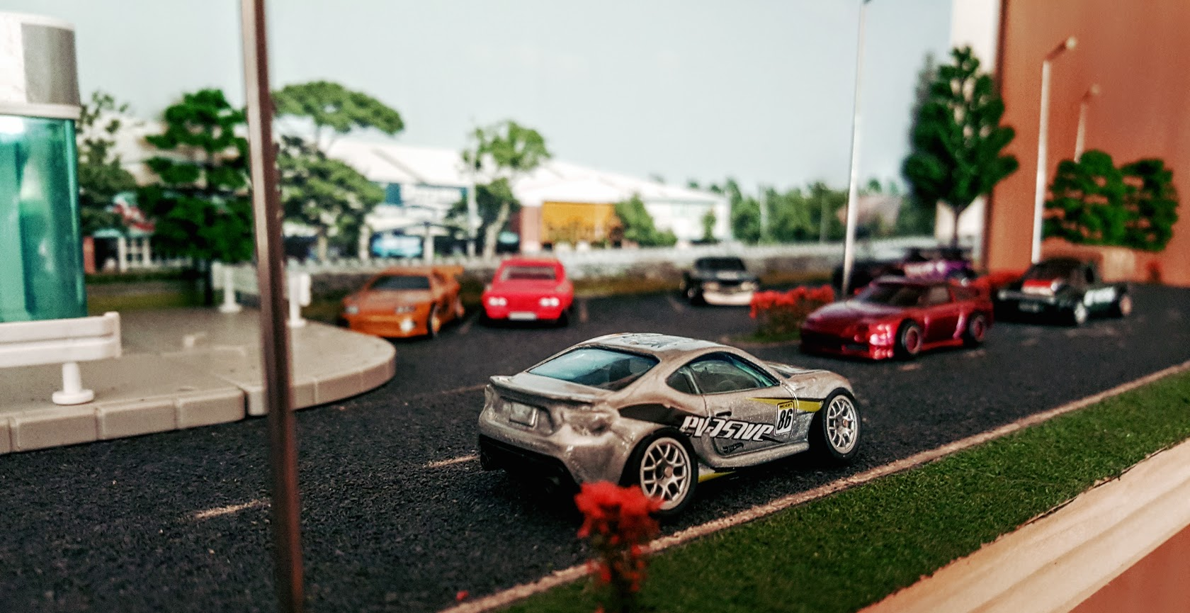 Car Möbel Shop how to a 1 64 scale diorama hotwheels diecast cars