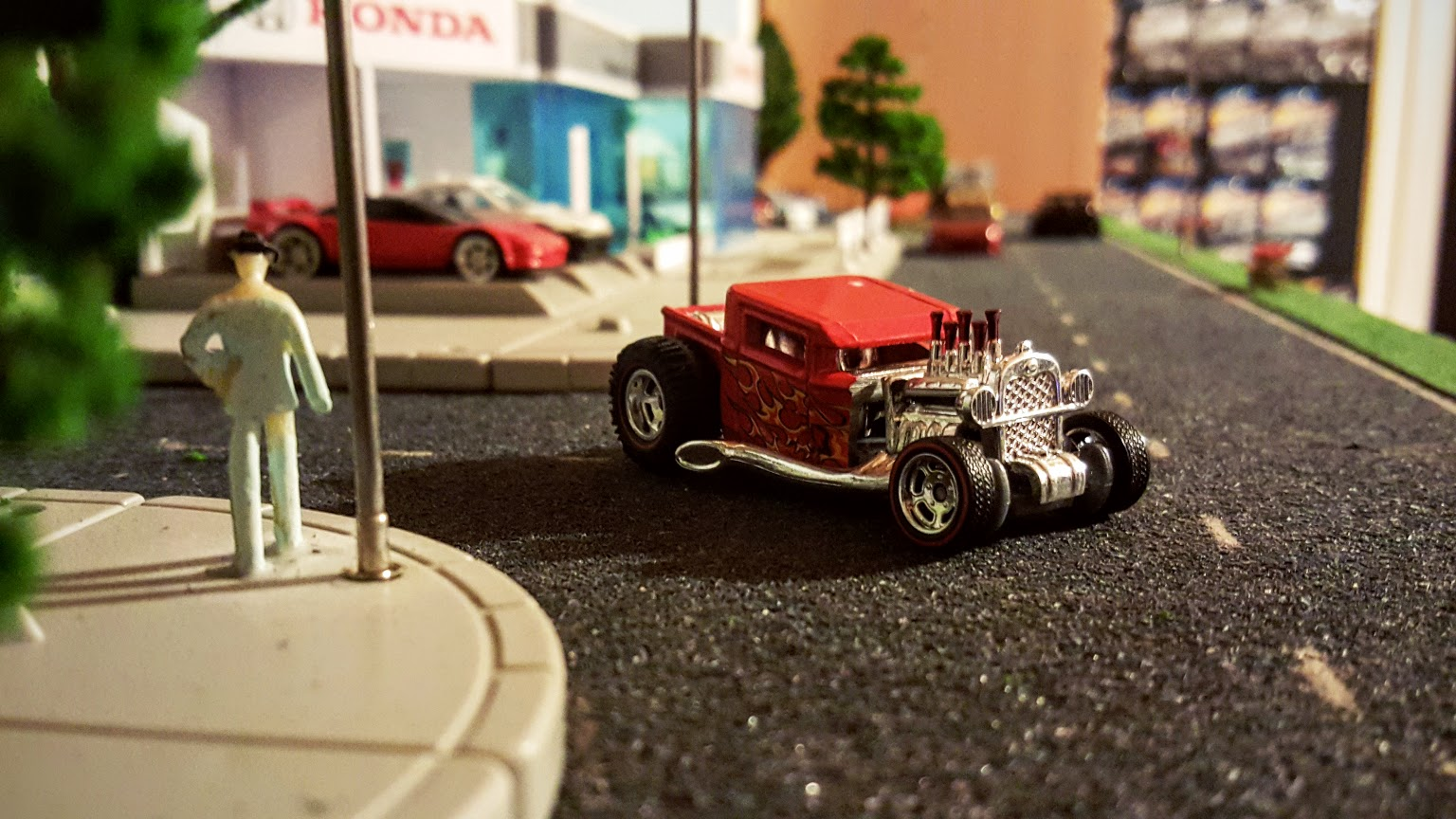 Ratted Out Boneshaker | Custom Hotwheels and Diecast Cars