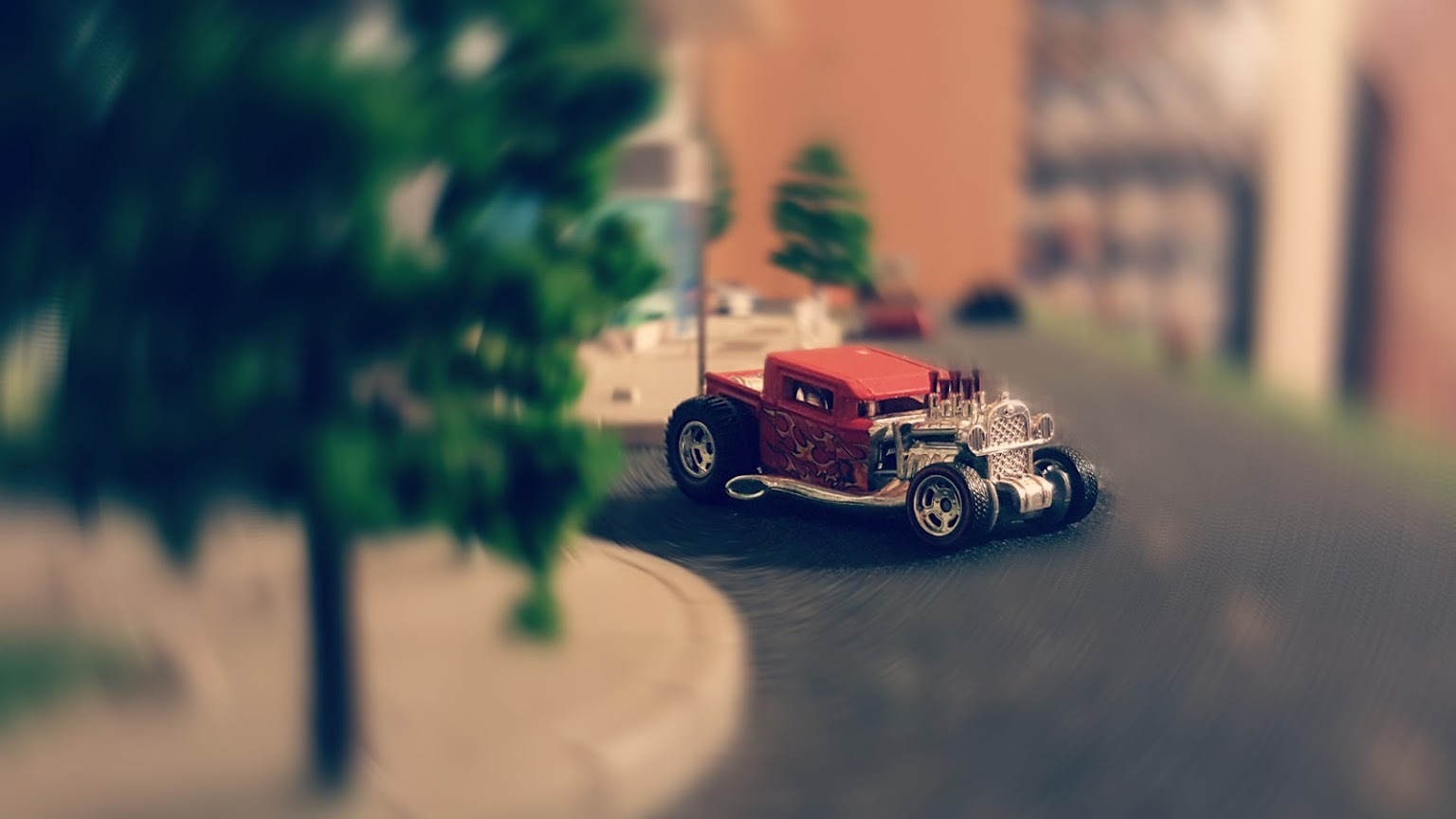 boneshaker ratrod spin blur - Custom Hot Wheels & Diecast Cars