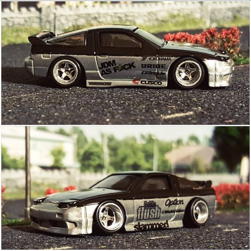 nissan 180sx 240sx diecast cars