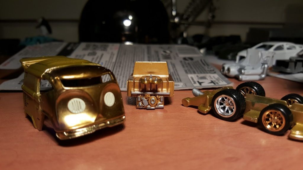 custom c3po kool kombi diecast cars