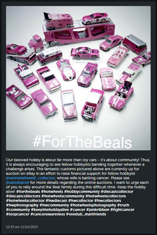 support for the beals and breast cancer