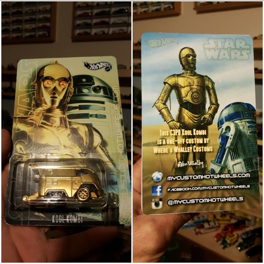 custom hotwheels card how to make