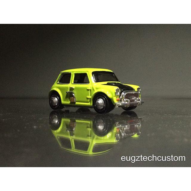 mr bean mini diecast car