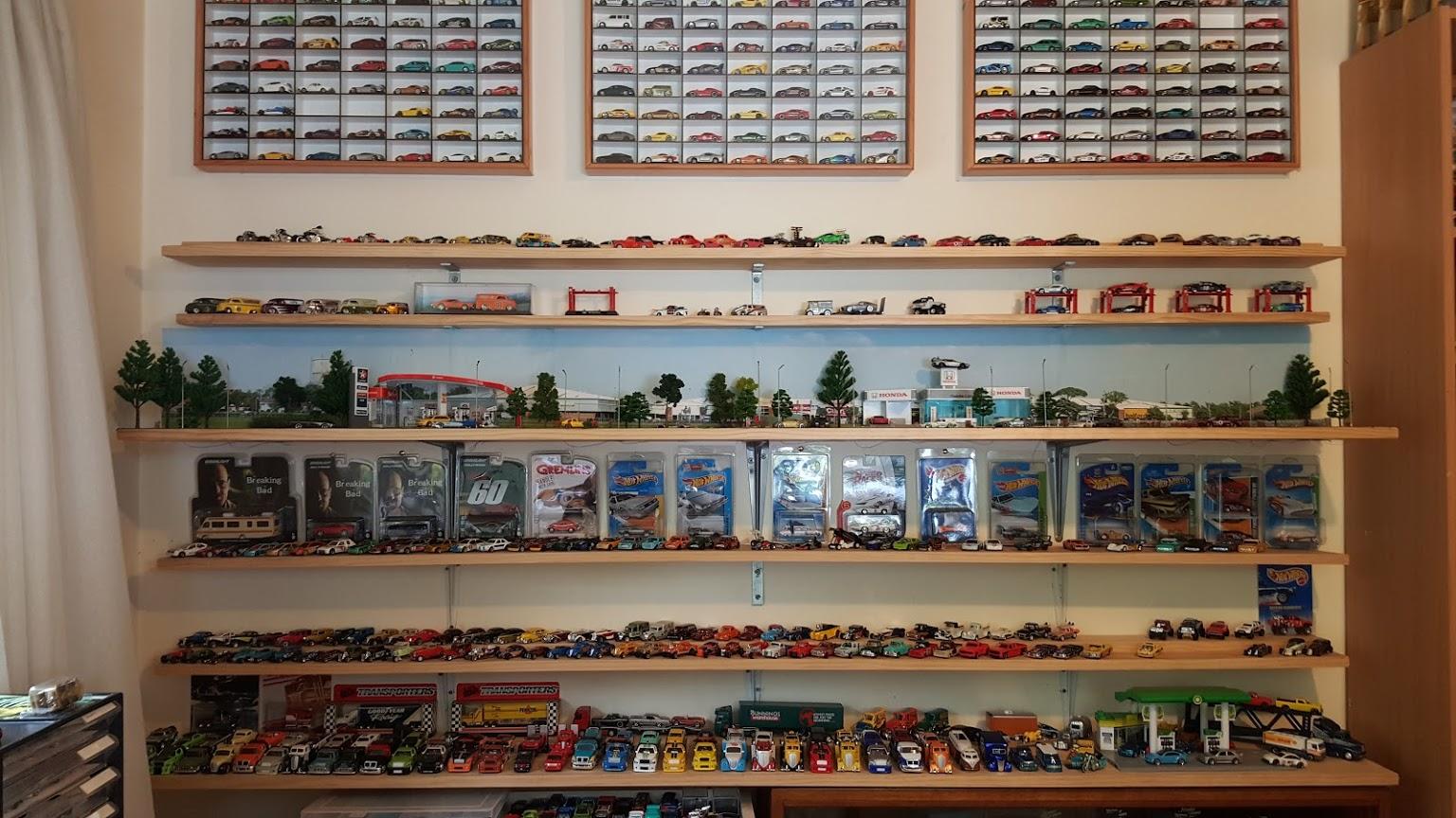 plain car garage ideas - My Diecast Cars & Hotwheels Collection Video Walk Through