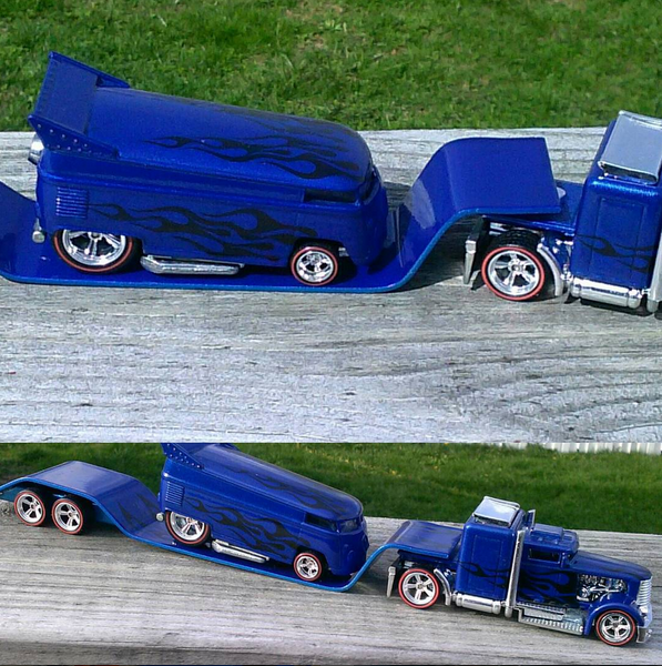 sits2low - truck and dragbus blue