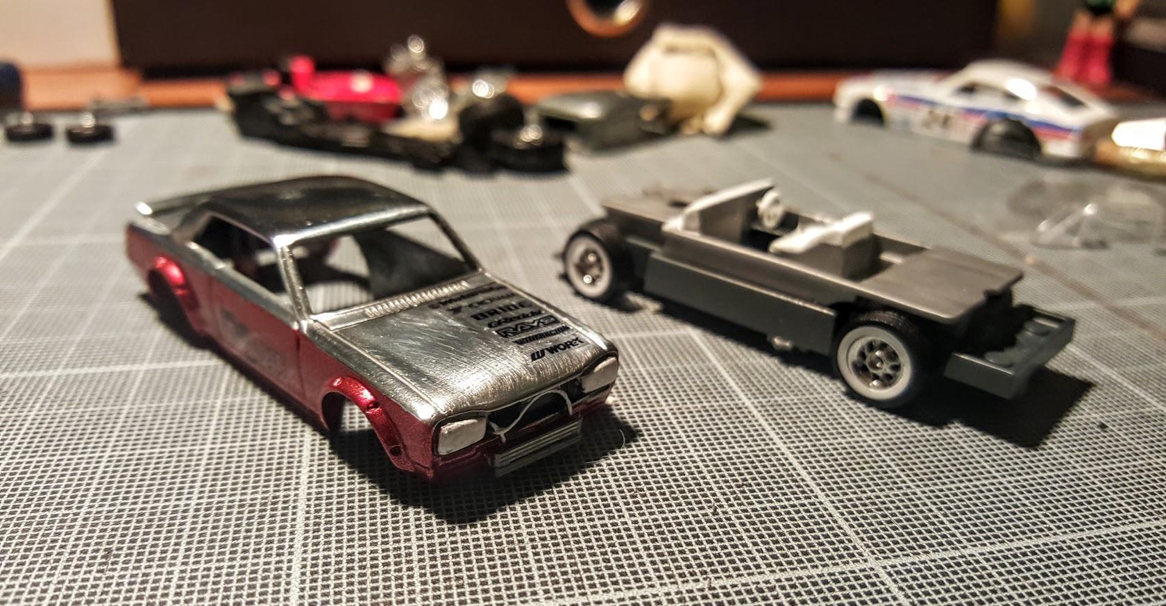 nissan skyline hakosuka custom hot wheels diecast cars. Black Bedroom Furniture Sets. Home Design Ideas