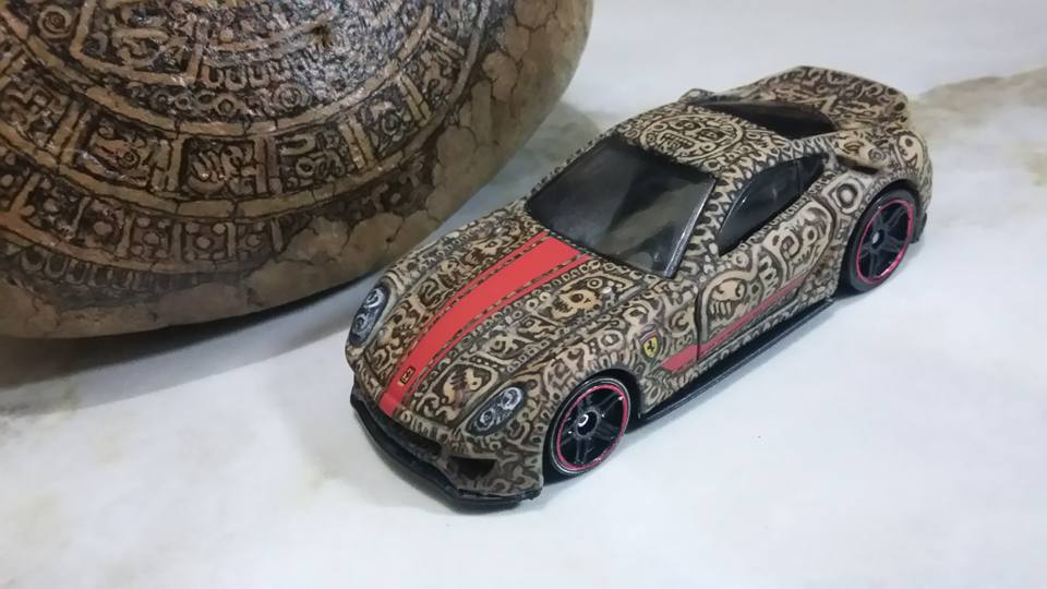 Holzmobel Fathur Handpainted custom hot wheels 13