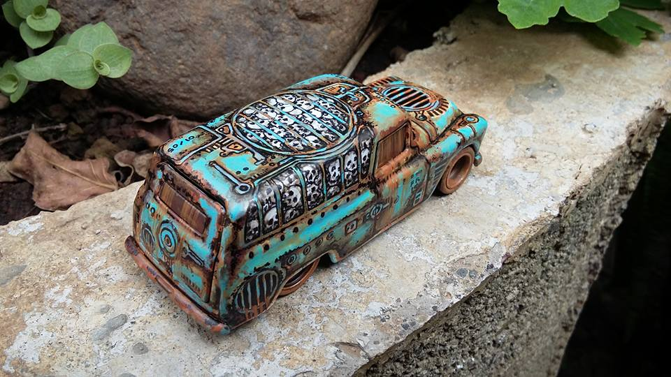 Holzmobel Fathur Handpainted custom hot wheels 2