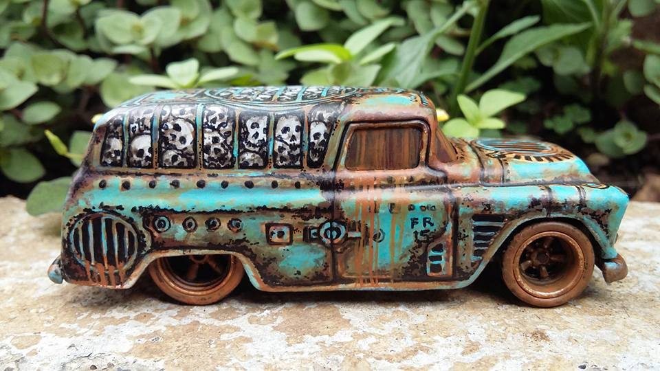 Holzmobel Fathur Handpainted custom hot wheels 3