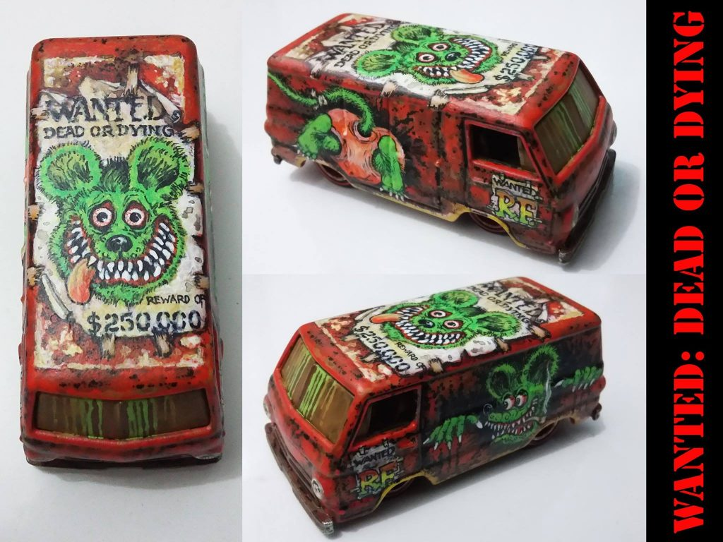 Holzmobel Fathur Handpainted custom hot wheels 5