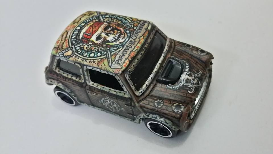 Holzmobel Fathur Handpainted custom hot wheels 6