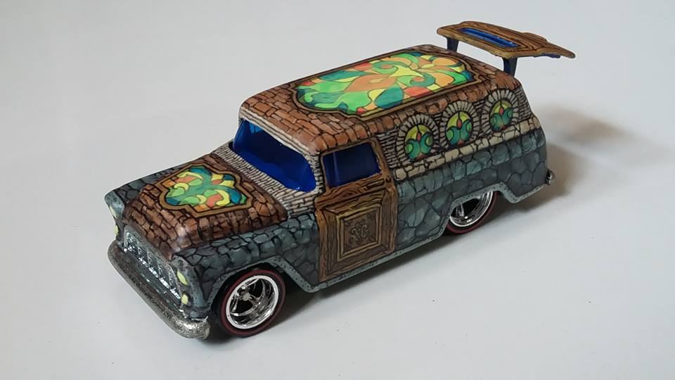 Holzmobel Fathur Handpainted custom hot wheels 8