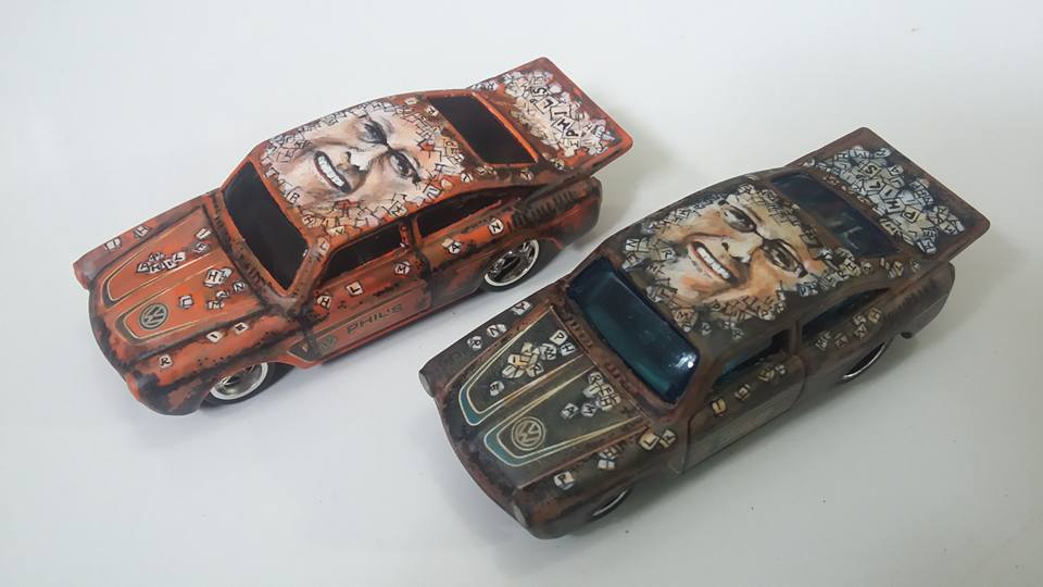 Holzmobel Fathur Handpainted custom hot wheels 9