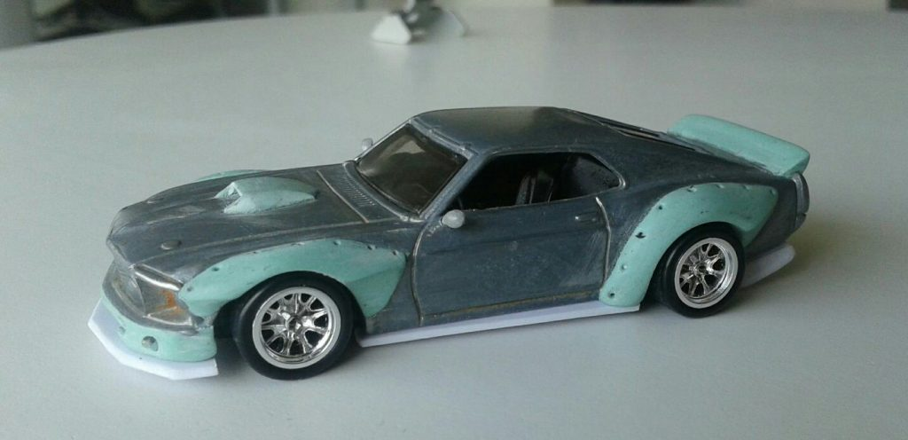 Luis Roa Araujo Mustang 5