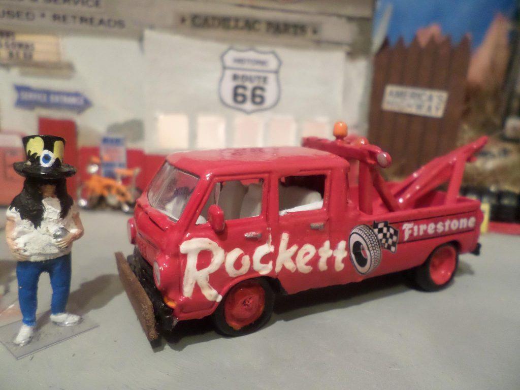 Redd Rocket dual cab a100 3