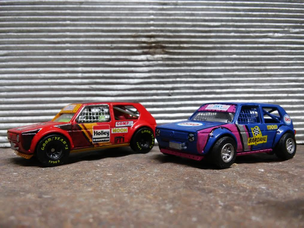 Results - custom Hot wheels Volkswagen Golf Mk 1 3