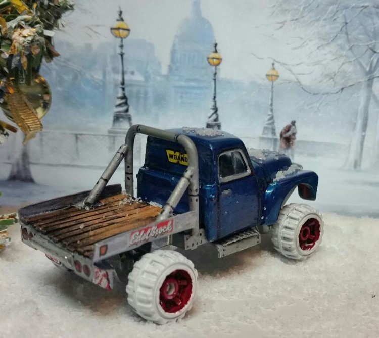 Sharon Tarshish - chevy snow truck 2