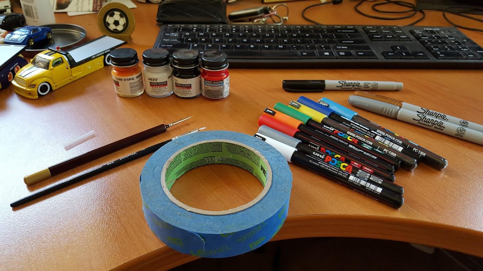 How To Custom Paint A Diecast Car