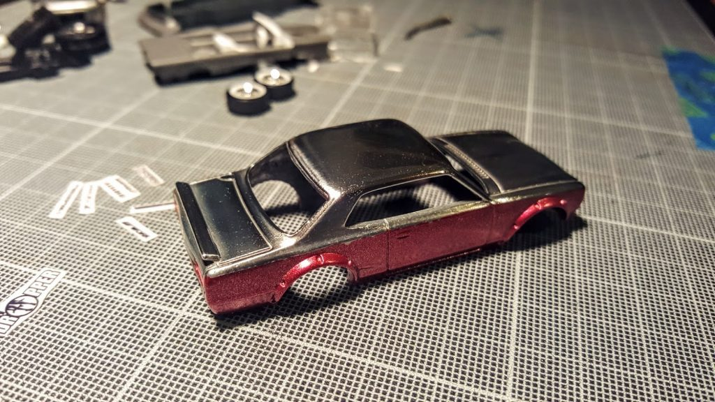 how to polish hotwheels autosol 3