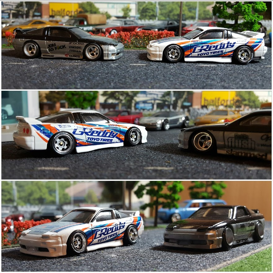Greddy 180sx collage 3