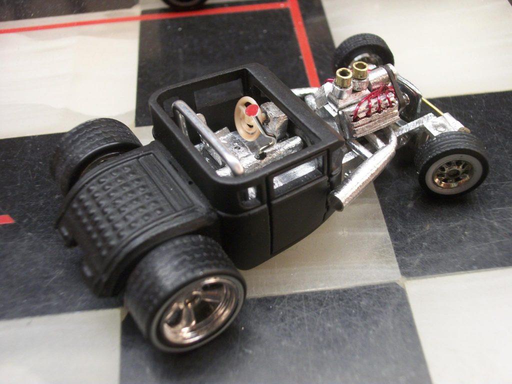 Jimi Hotwheels boneshaker with working steering
