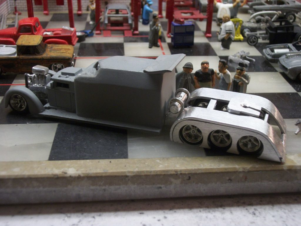 Jimi Hotwheels crazy custom big rig 2