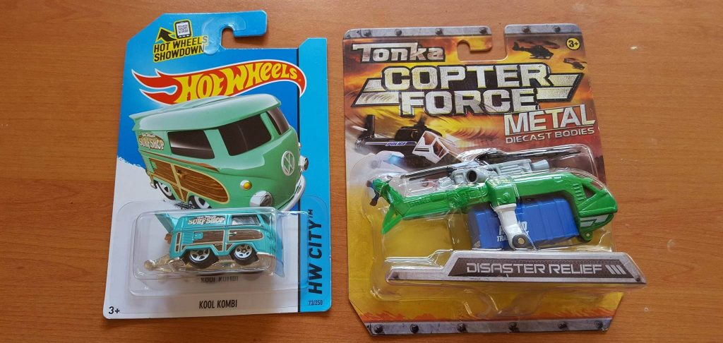 My custom hot wheels Kool Kombi Kopter
